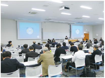学会発表は日本医科大学武蔵境校舎において行われた