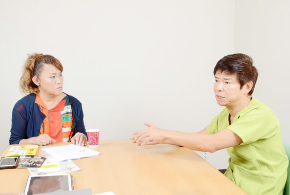 南雲医師との対談は2019 年8 月27 日(火)、東京都千代田区にあるナグモクリニックの会議室において行われた