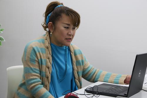 東京都生まれ、タレント。「がん検診率向上のため、日々頑張っています」